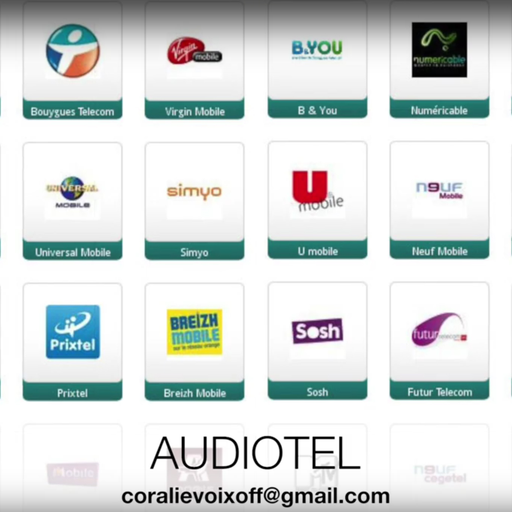 Showreel audiotel